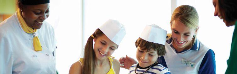 Club dédié aux enfants du bateau de croisière Celebrity Summit