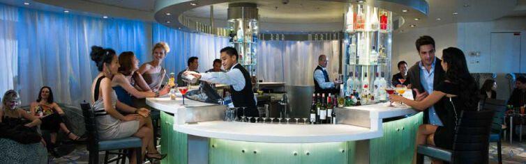 Martini Bar du bateau de croisière Celebrity Summit