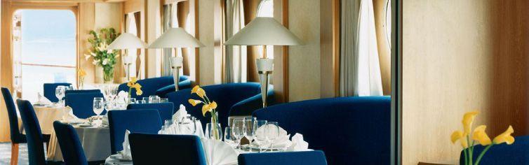 Restaurant du bateau de croisière Celebrity Xpedition