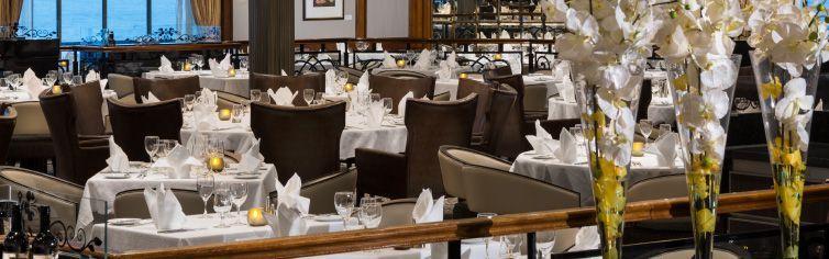 Restaurant du bateau de croisière Azamara Journey