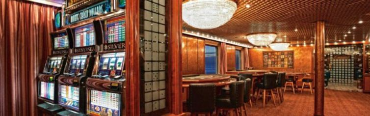 Casino du bateau de croisière Silver Wind