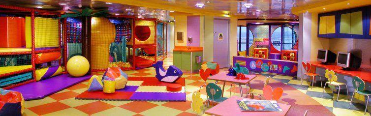 Club dédié aux enfants du bateau de croisière Norwegian Dawn