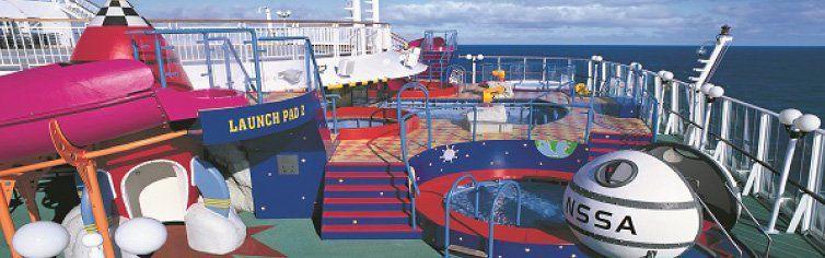 Club dédié aux enfants du bateau de croisière Norwegian Star