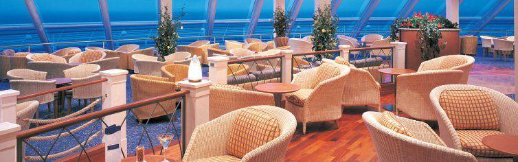 Bar du navire de croisière Norwegian Sun