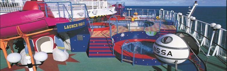 Club dédié aux enfants du bateau de croisière Norwegian Sun