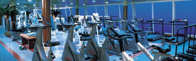 Fitness club du bateau de croisière Norwegian Sun