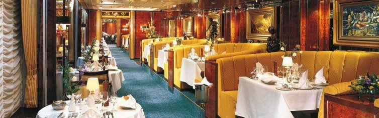 Restaurant du bateau de croisière Norwegian Sun