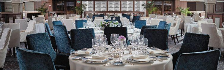 Restaurant du bateau de croisière Seven Seas Navigator