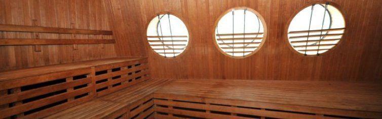 Sauna du bateau de croisière MS Fram