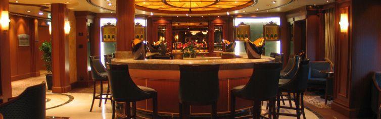 Bar du bateau de croisière Queen Victoria