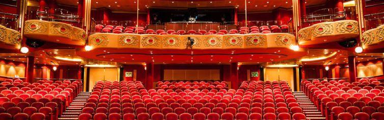 Théâtre du bateau de croisière Queen Victoria