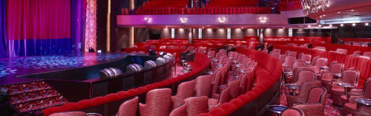 Théâtre du bateau de croisière Queen Mary 2