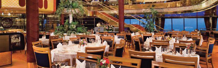 Restaurant du bateau de croisière MS Maasdam