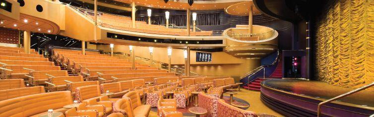 Théâtre du bateau de croisière MS Noordam