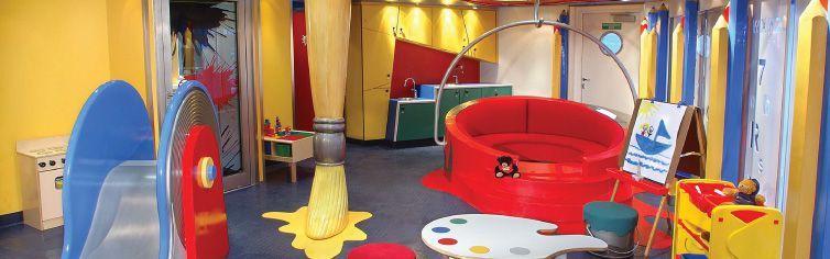 Club dédié aux enfants du bateau de croisière MS Oosterdam