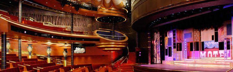 Théâtre du bateau de croisière MS Oosterdam