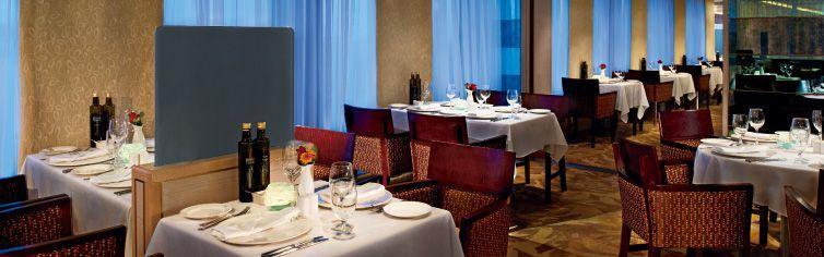 Restaurant du bateau de croisière MS Rotterdam