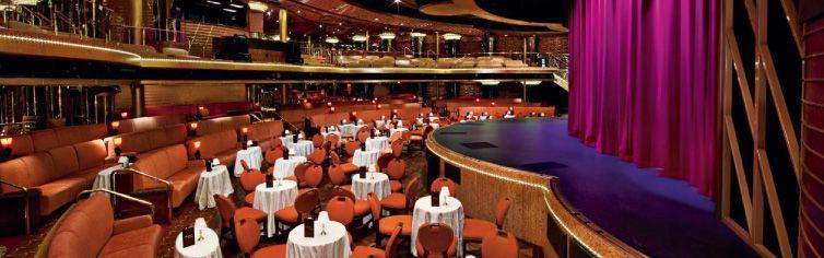 Théâtre du bateau de croisière MS Veendam