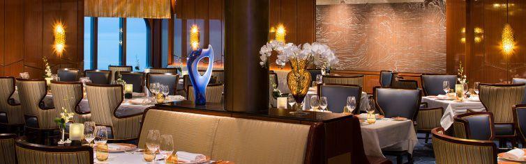 Restaurant du bateau de croisière MS Volendam