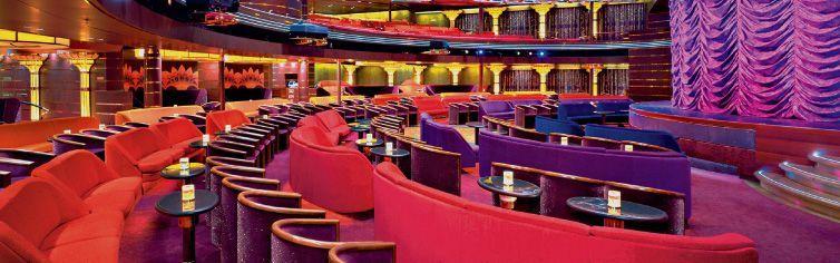 Théâtre du bateau de croisière MS Volendam