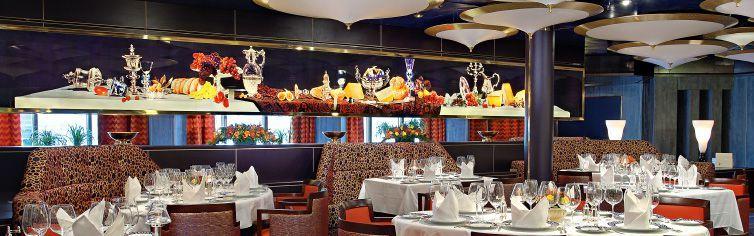Restaurant du bateau de croisière MS Westerdam