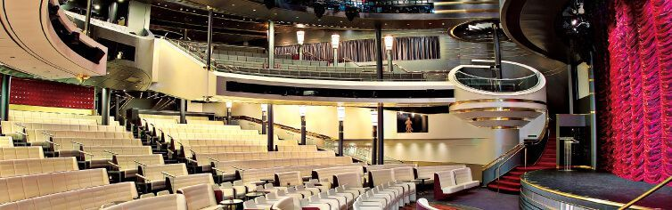 Théâtre du bateau de croisière MS Westerdam