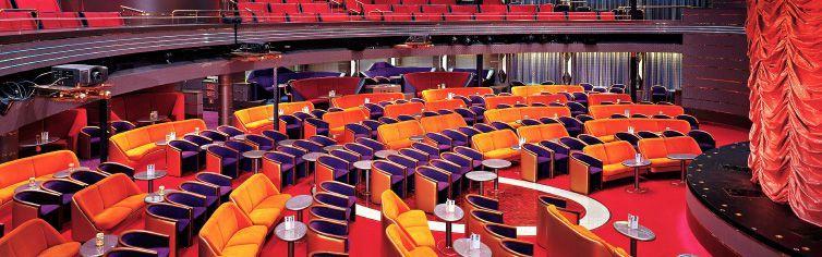 Théâtre du bateau de croisière Ms Zaandam