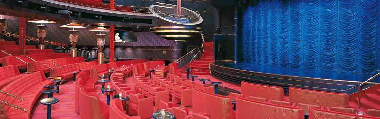 Théâtre du bateau de croisière MS Zuiderdam