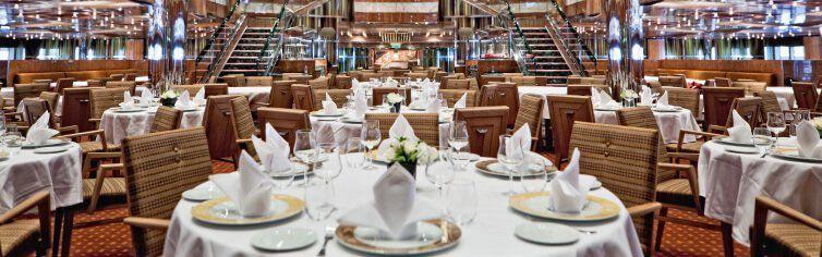 Restaurant du bateau de croisière Costa Fascinosa