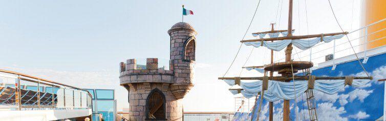 Club enfant du bateau de croisière Costa Favolosa