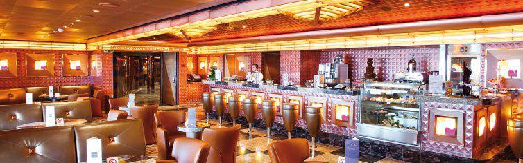 Bar du navire de croisière Costa Deliziosa