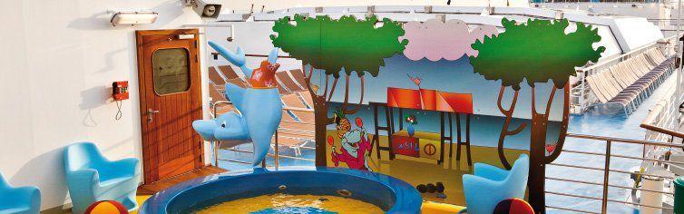 Club pour enfants du bateau de croisière Costa Deliziosa