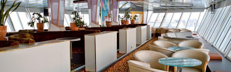 Bar du bateau de croisière Celestyal Crystal