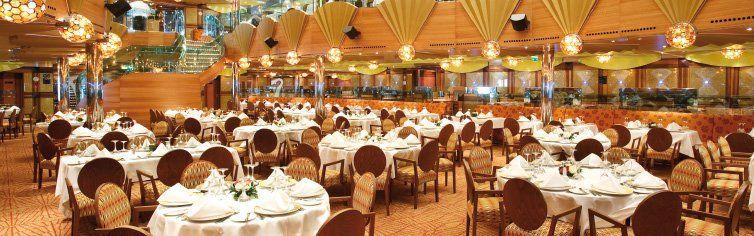 Restaurant du bateau de croisière Costa Luminosa