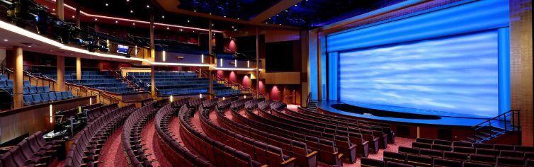 Théâtre du bateau de croisière Symphony of the Seas