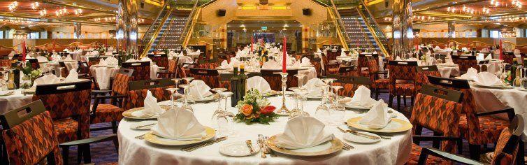 Restaurant du bateau de croisière Costa Serena
