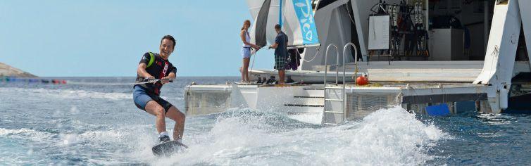 Sports Nautique à bord du bateau de croisière Club Med 2