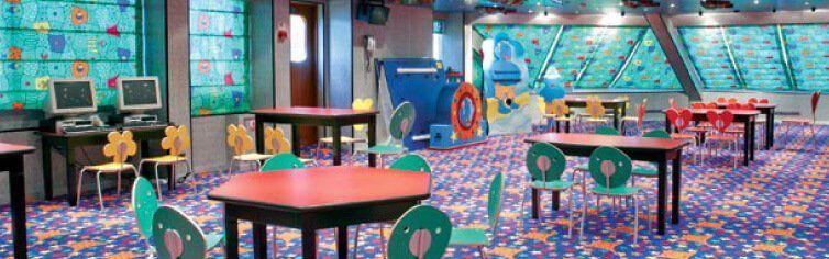 Club pour enfants du bateau de croisière Costa Magica