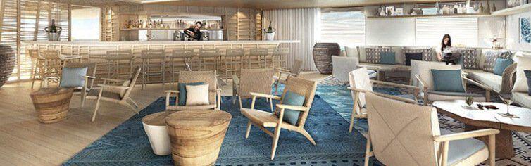 Photo du Bar du bateau de croisière Le Bougainville