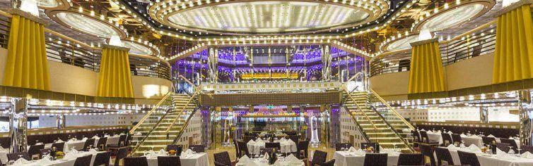 Restaurant du bateau de croisière Diadema