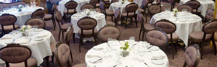 Restaurant du bateau de croisière MSC Divina