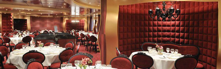 Restaurant du bateau de croisière MSC Fantasia