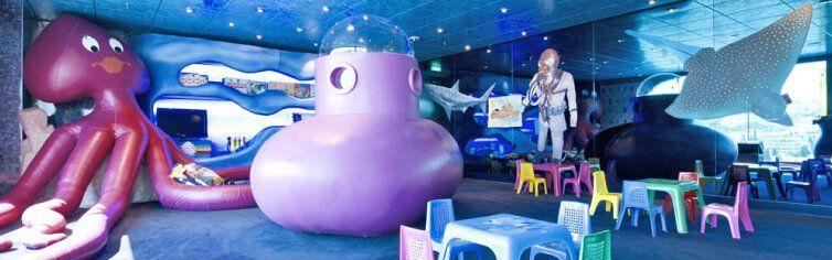 Club dédié aux enfants du bateau de croisière MSC Magnifica