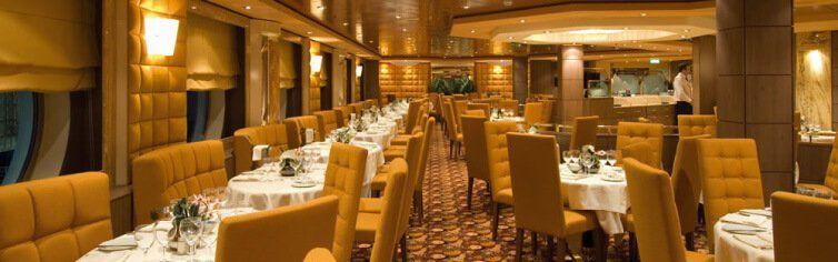 Restaurant du bateau de croisière MSC Orchestra