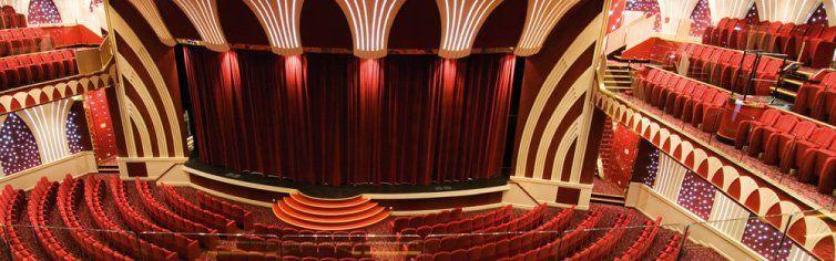 Théâtre du bateau de croisière MSC Musica