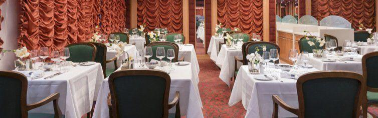 Restaurant du bateau de croisière MSC Armonia