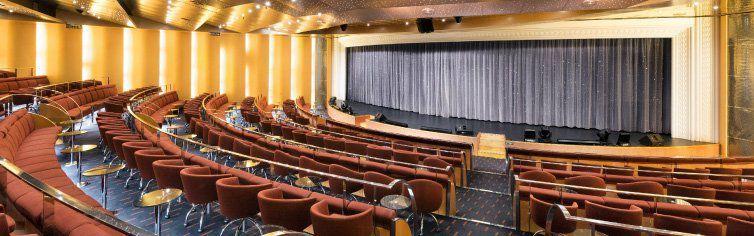 Théâtre du bateau de croisière MSC Armonia