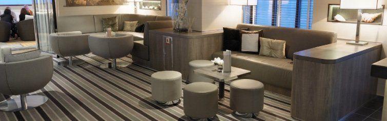 Bar Lounge du bateau de croisière l'Austral