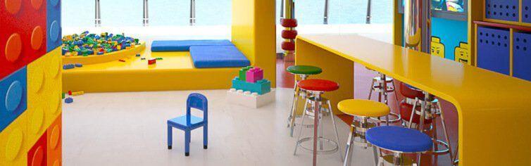 Club dédié aux enfants à bord du bateau de croisière MSC Meraviglia