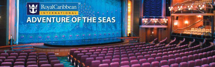 Théâtre du bateau de croisière Adventure of the Seas
